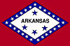Image of the Arkansas state flag.