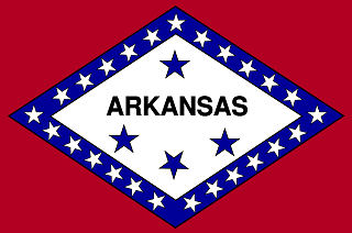 Official Arkansas state flag.