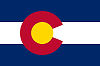 Official State Flag of Colorado.