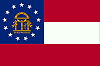 Image of the Georgia state flag.