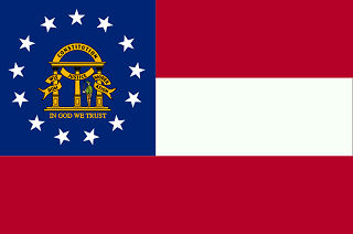 Official Georgia state flag.