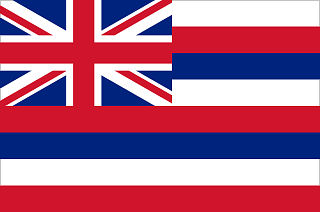 Official Hawaii state flag.