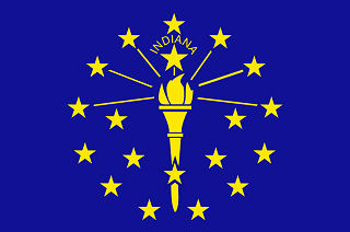 Official Indiana state flag.