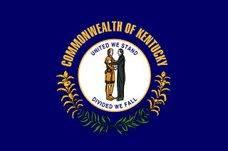Official Kentucky state flag.