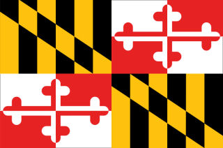 Official Maryland state flag.