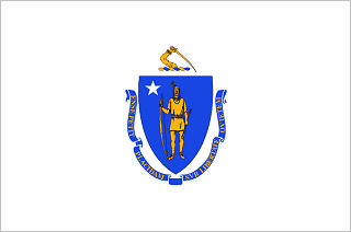 Official Massachusetts state flag.
