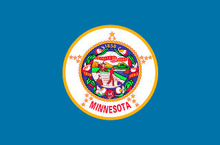 Official Minnesota state flag.