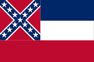 Official Mississippi state flag.