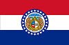 Image of the Missouri state flag.