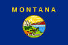 Image of the Montana state flag.