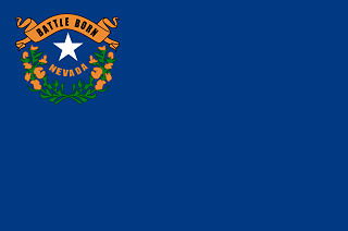 Official Nevada state flag.