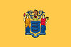 Image of the New Jersey state flag.