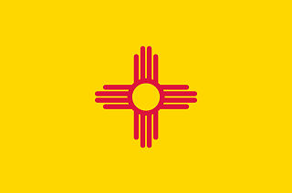 Official New Mexico state flag.