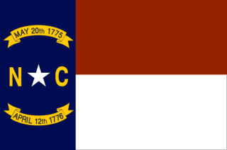 Official North Carolina state flag.