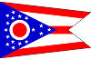 Official State Flag of Ohio.