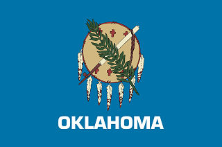 Official Oklahoma state flag.