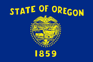 Official Oregon state flag.