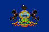 Image of the Pennsylvania state flag.