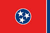 Image of the Tennessee state flag.