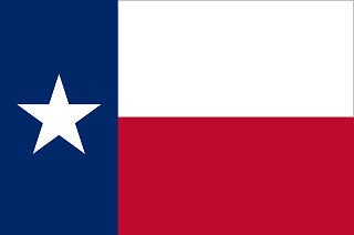 Official Texas state flag.