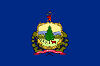 Image of the Vermont state flag.