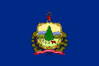 Official Vermont state flag.