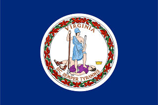 Official Virginia state flag.