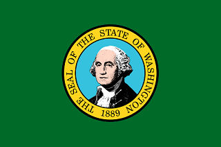 Official Washington state flag.
