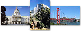 California State collage of images.