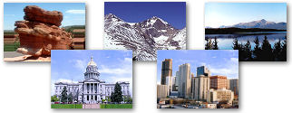 Colorado State collage of images.