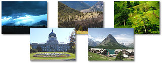 Montana State collage of images.