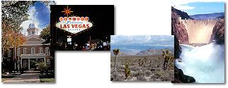 Nevada State collage of images.