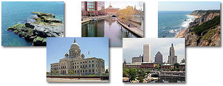 Rhode Island State collage of images.