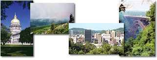 West Virginia State collage of images.