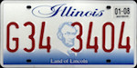 Image of the Illinois state license.