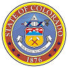 Official State Seal of Colorado.