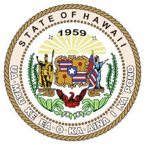 Official Hawaii state seal.