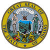 Official State Seal of Idaho.