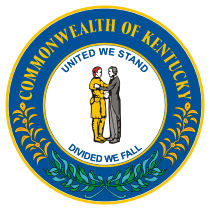 Official Kentucky state seal.
