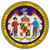 Official State Seal of Maryland.