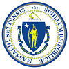 Official State Seal of Massachusetts.