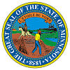Official State Seal of Minnesota.