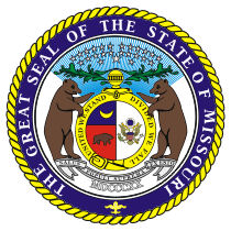 Official Missouri state seal.