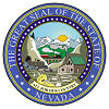 Image of the Nevada state seal.