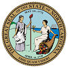 Official State Seal of North Carolina.