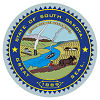 Official State Seal of South Dakota.