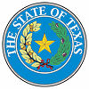 Official State Seal of Texas.