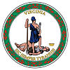 Official State Seal of Virginia.