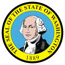 Official Washington state seal.