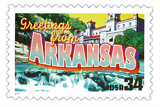 Official Arkansas state stamp.